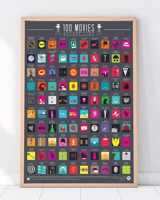 100 Movies Bucket List Skraptavla
