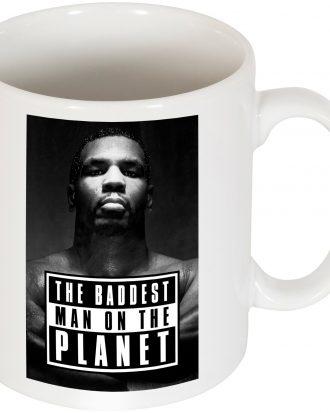 100 Porcelain mug Mugg 100 Porcelain mug including an original design celebrating world famous boxer Mike Tyson Vit
