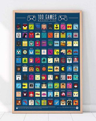 100 Video Games Bucket List Skraptavla
