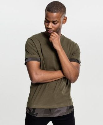 2 in 1 t-shirt camo (L