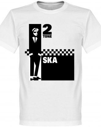 2 Tone Ska T-shirt Culture 2 Tone Ska Vit XS