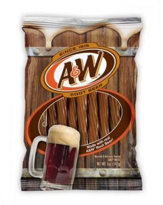 A&W Root Beer Juicy Twists 141g