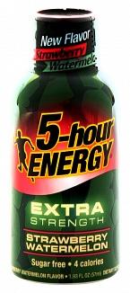 5-Hour Energy Extra Strength Strawberry Watermelon