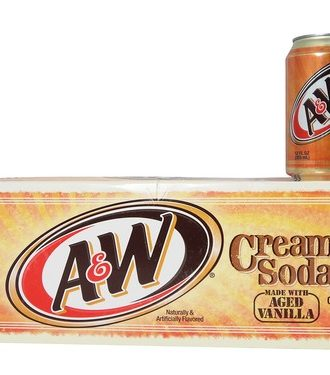 A&W Cream Soda 12-pack