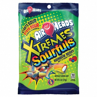 Airheads Xtremes Sourfuls Rainbow Berry 170g