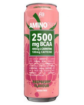 Amino Pro BCAA Raspberry 33cl