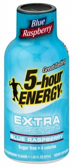 5-Hour Energy Shot Blue Raspberry