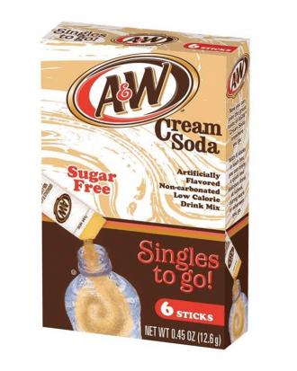 A&W Cream Soda Singles 2 Go
