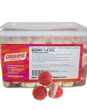 Bärry Jordgubb/Vanilj 1.8kg