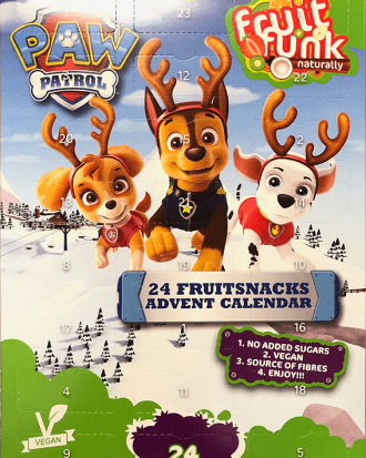 Adventskalender Fruit Funk Paw Patrol 171g