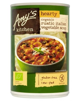 Amys Kitchen Hearty Italian Rustic Vegetable Soup 397g