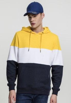 3-tone hoodie (L