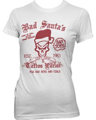 Bad Santa´s Gift Shop Girly Tee