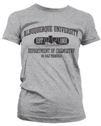 Albuquerque University - Dept Of Chemistry Girly Tee
