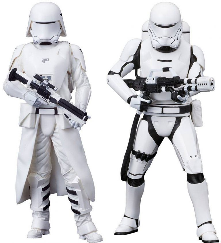 Star Wars - First Order Snowtrooper & Flametrooper 2-Pack - Artfx+
