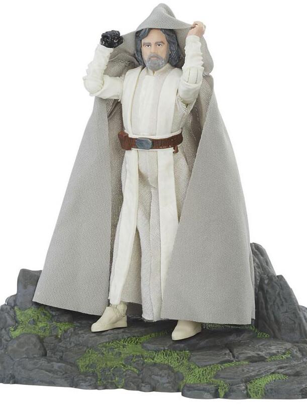 Star Wars Black Series - Deluxe Luke Skywalker Ahch-To Island