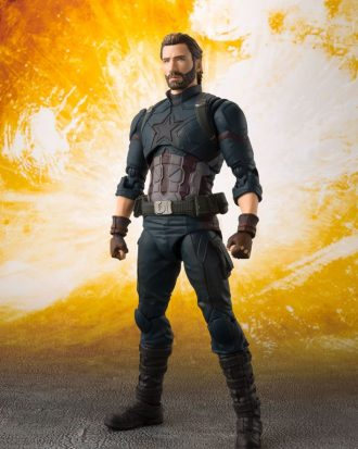Avengers Infinity War - Captain America - S.H. Figuarts