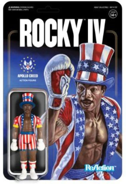 Rocky 4 - Apollo Creed - ReAction
