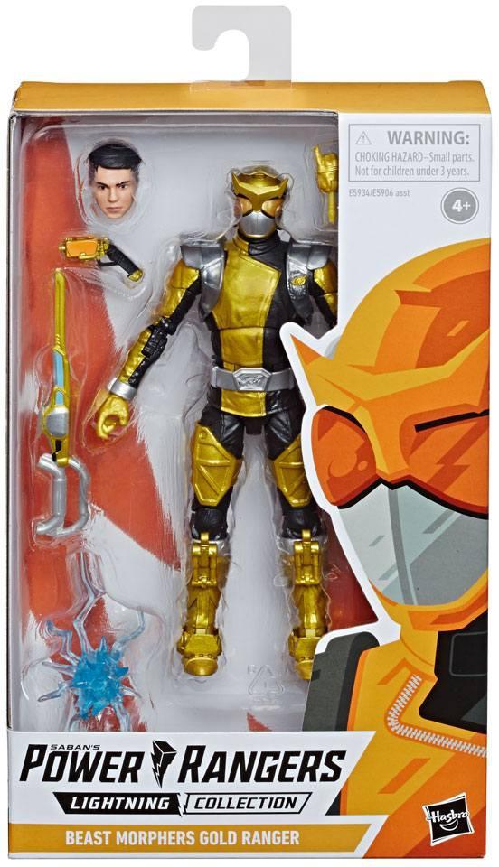 Power Rangers Lightning Collection - Beast Morphers Gold Ranger