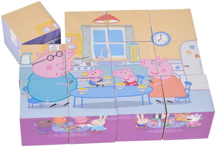 Peppa Pig - Picture Cubes
