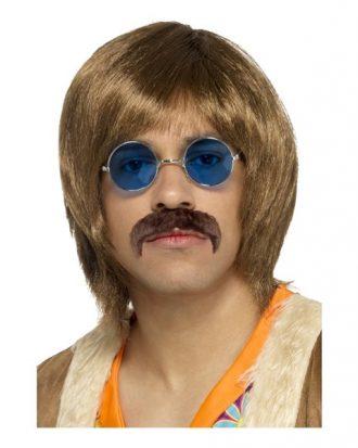 60-tals Hippie Perukset - One size