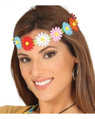 60-tals Pannband med Blommor