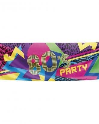 Banderoll 80-tal