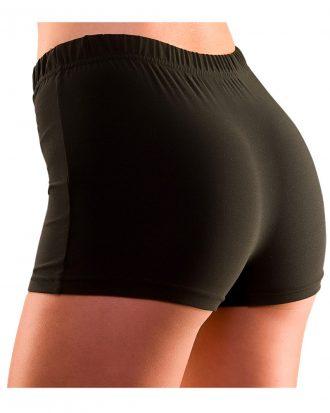 80-tals Hotpants Svarta - Medium/Large
