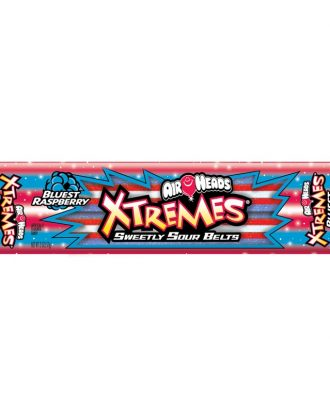 Airheads Xtremes Sour Belts Blue Raspberry