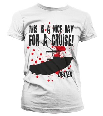 A Nice Day For A Cruise Girly T-Shirt