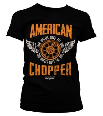 American Chopper - Two Wheels Girly Tee