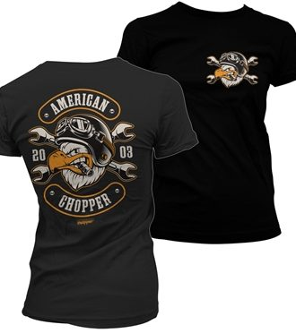 American Chopper - Cigar Eagle Girly Tee