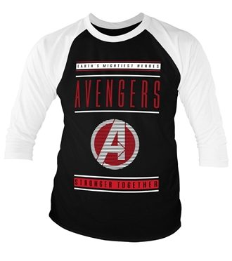 Avengers - Stronger Together Baseball 3/4 Baseball Sleeve