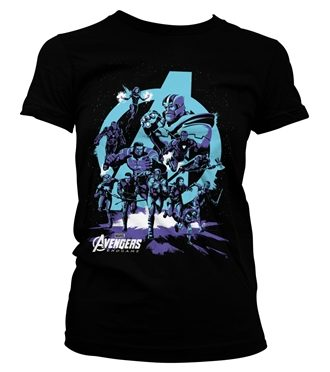 Avengers - Thanos Grip Endgame Girly Tee