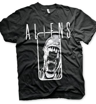 Aliens Distressed T-Shirt
