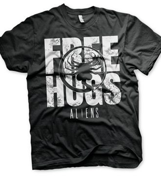 Aliens - Free Hugs T-Shirt