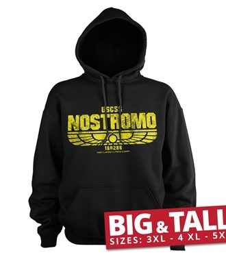Aliens - USCSS Nostromo Big & Tall Hoodie