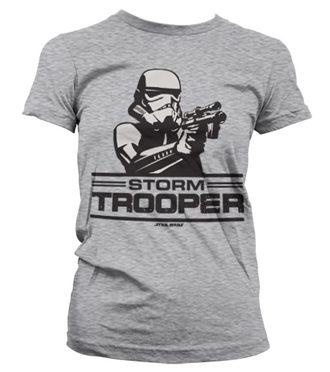 Aiming Stormtrooper Girly T-Shirt