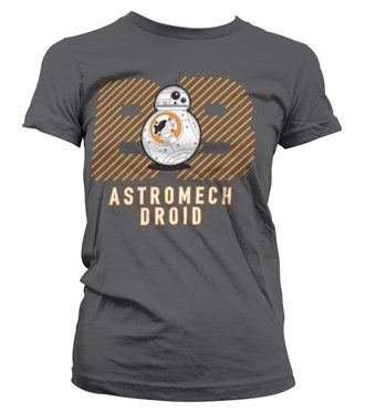 Astromech Droid Girly T-Shirt