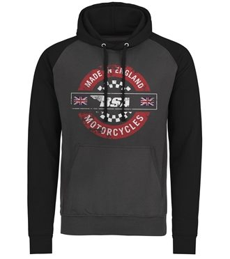 B.S.A. - Made In England Baseball Hoodie