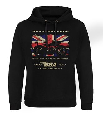 B.S.A. Motor Cycles - The Journey Epic Hoodie