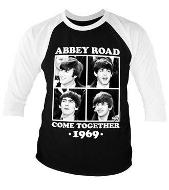 Abbey Road - Come Together Baseball 3/4 Sleeve Tee
