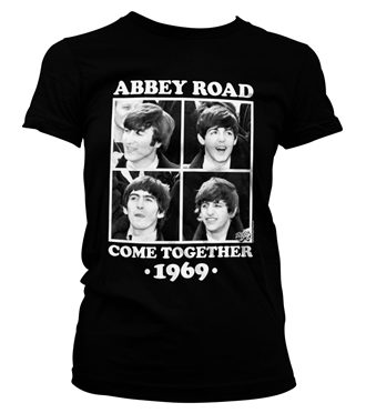 Abbey Road - Come Together Girly T-Shirt