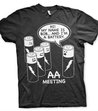 AA Battery Meeting T-Shirt