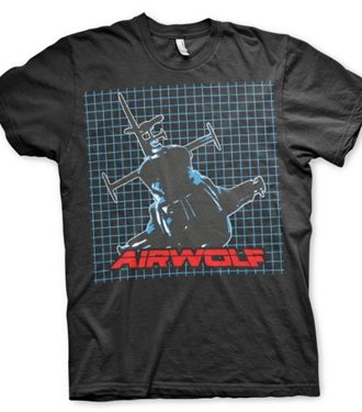 Airwolf Pattern T-Shirt