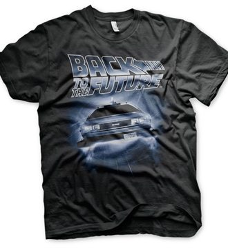 Back To The Future - Flying Delorean T-Shirt
