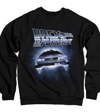 Back To The Future - Flying Delorean Sweatshirt