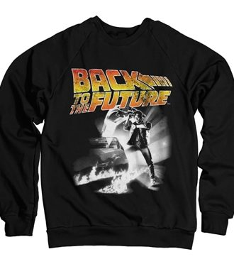 Back To The Future Poster Sweatshirt