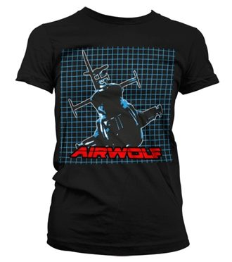 Airwolf Pattern Girly T-Shirt