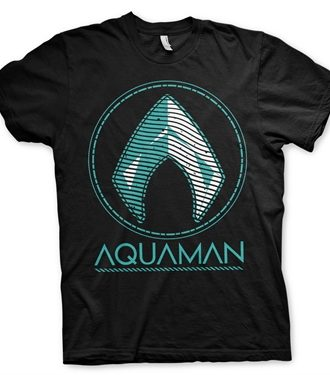 Aquaman - Distressed Shield T-Shirt